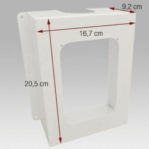 Dimension Boîtier pour Prise Retraflex